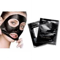 Shiseido Black Mud Mask - Shiseido Blackhead Nose Remover Mask & Whitening 10 sachet