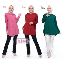 JO & NIC NIKITA Blouse Wanita Jumbo - Tunik Big Size fit to XL