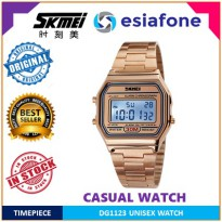 [esiafone happy sale] SKMEI Casual Men Stainless Strap Watch - Jam Tangan Pria 1123 Original