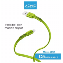 (POP UP AIA)  ACMIC CFM100 Kabel Data Charger Micro USB 100cm Fast Charging Cable