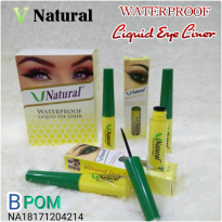 Eyeliner Eye Liner Liquid Waterproof V Natural 1PCS Make Up Makeup Mata Vnatural BPOM Original Best Seller