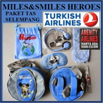 TAS SLEMPANG ANAK MILES & SMILES HERO TURKISH AIRLINES