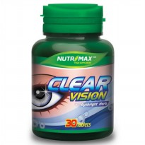 NUTRIMAX CLEAR VISION With Eyebright Herb - 30 tablets
