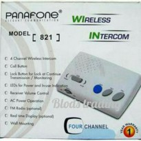 Interkom wireless baby monitor Panafone 821 Barang Oke