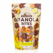 [POP UP AIA] East Bali Cashews Granola Bites Chocolate Banana 125gr - 2 Pcs