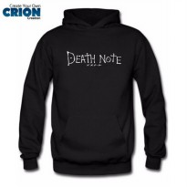 Jaket Sweater Hoodie - Death Note Logo - By Crion