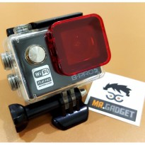 Red Filter for Brica Bpro 5 AE Standart Waterproof Case