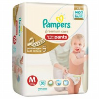 Pampers Premium Care Pants M-30S