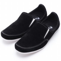Dr.Kevin Loafers & Moccasins Suede 13127 Hitam