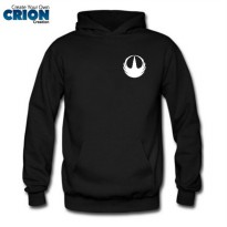 Jaket Sweater Hoodie Star Wash - Rogue One Logo - By Crion
