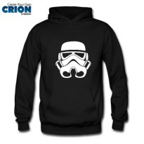 Jacket Sweater Hoodie Star Wars - Stormtrooper Face - By Crion