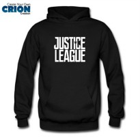 Jacket Sweater Hoodie Justice League - Justice League Logo - By Crion