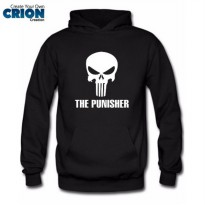 Jaket Sweater Hoodie The Punisher - The Punisher Logo - By Crion