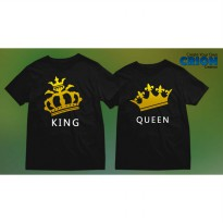 Kaos Couple - King Queen - By Crion