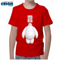 Kaos Anak Big Hero 6 - Baymax - By Crion