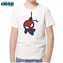 Kaos Spiderman Anak - Spiderman Cute Chibis - By Crion