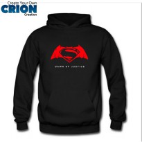 Jaket Sweater Hoodie Batman VS Superman Dawn Of Justice - By Crion
