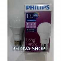 Lampu LED Philips 13 watt Bohlam 13w / Philip Putih 13 w Bulb LED