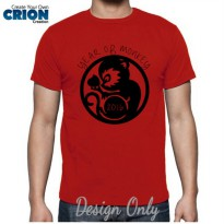 Kaos Imlek 2016 - Year of Monkey -Chinese New Year-Sincia by Crion