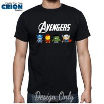 Kaos Avenger Cute Assemble by Crion