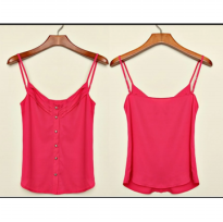 Import Woman Tank Red