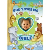 God Loves Me Bible, Newly Illustrated (Boy)