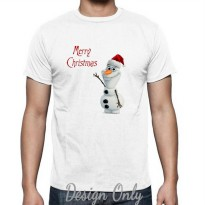 Kaos Frozen - Olaf Say Merry Christmas by Crion