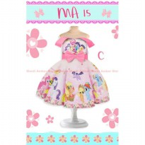 Dress Pesta Anak Cantik My Little Pony