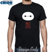 Kaos big Hero 6 - BAYMAX Face Logo