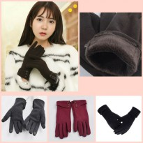 sarung tangan wanita musim dingin winter touch screen