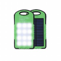 Solar powerbank 58000 mAh 12 LED LAMP