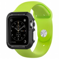 Spigen Rugged Armor for Apple Watch 42MM - Black