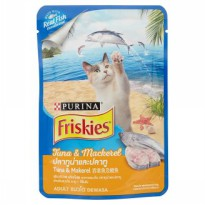 Cat Food / Makanan Kucing Friskies Tuna & Mackarel 80 Gr