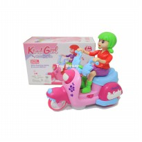 Mainan Anak / Kind Girl Motorcycle / Model Scoopy / Motor Matic 101