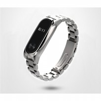 Xiaomi Mi Band 2 OLED Tali Band / Strap, Stainless Steel Mijobs Silver Plus