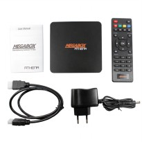 Megabox Athena - Andorid TV Box Quad Qore RAM 2GB - Internal 8GB -