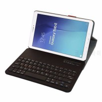 [globalbuy] Removable Bluetooth Keyboard Leather Case Cover For Samsung Galaxy Tab E 9.6 //4931453