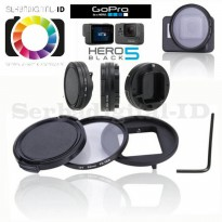 GOPRO HERO 5 Filter UV 52mm Glasses+Adapter Ring+Lenscap