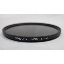 77mm ND 8 - Rise UK Neutral Density ND8 Filter 77 mm