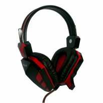 Rexus Headset Gaming F-22 - Merah