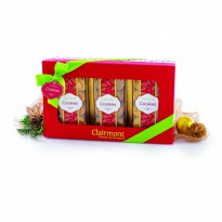 Clairmont - Christmas Giftbox (Cornflakes, Choco Chips & Almond Crunchy cookies)
