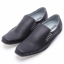 Dr.Kevin Leather Shoes 13217 Black