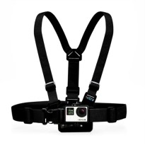 Chest Harness Belt Strap With J-Hook Mount Set For GoPro & Xiaomi Yi