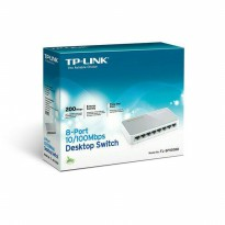 SWITCH TP-LINK TL-SF1008D 8PORT 10/100MBPS