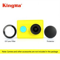 KingMa UV Lens Filter & Protector for Xiaomi XiaoYi Yi Sports Action Camera - Hitam