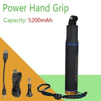 Kingma Power Hand Grip 5200mAh for Xiaomi Yi Sports Action Camera and GoPro - Hitam