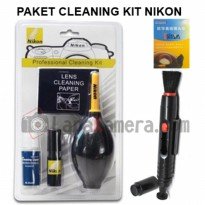 paket cleaning kit nikon dan lenspen