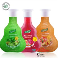 KLINSEN SHOWER SCRUB 280ML with 3 variants