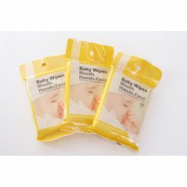 US BABY Hand, Mouth, Face Baby Wipes /10x3 Tisu Basah Bayi Tissue Anak
