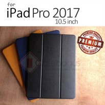 Ipad Pro 10.5 Inch 2017 - Ultra Slim Leather Case with Pencil Holder